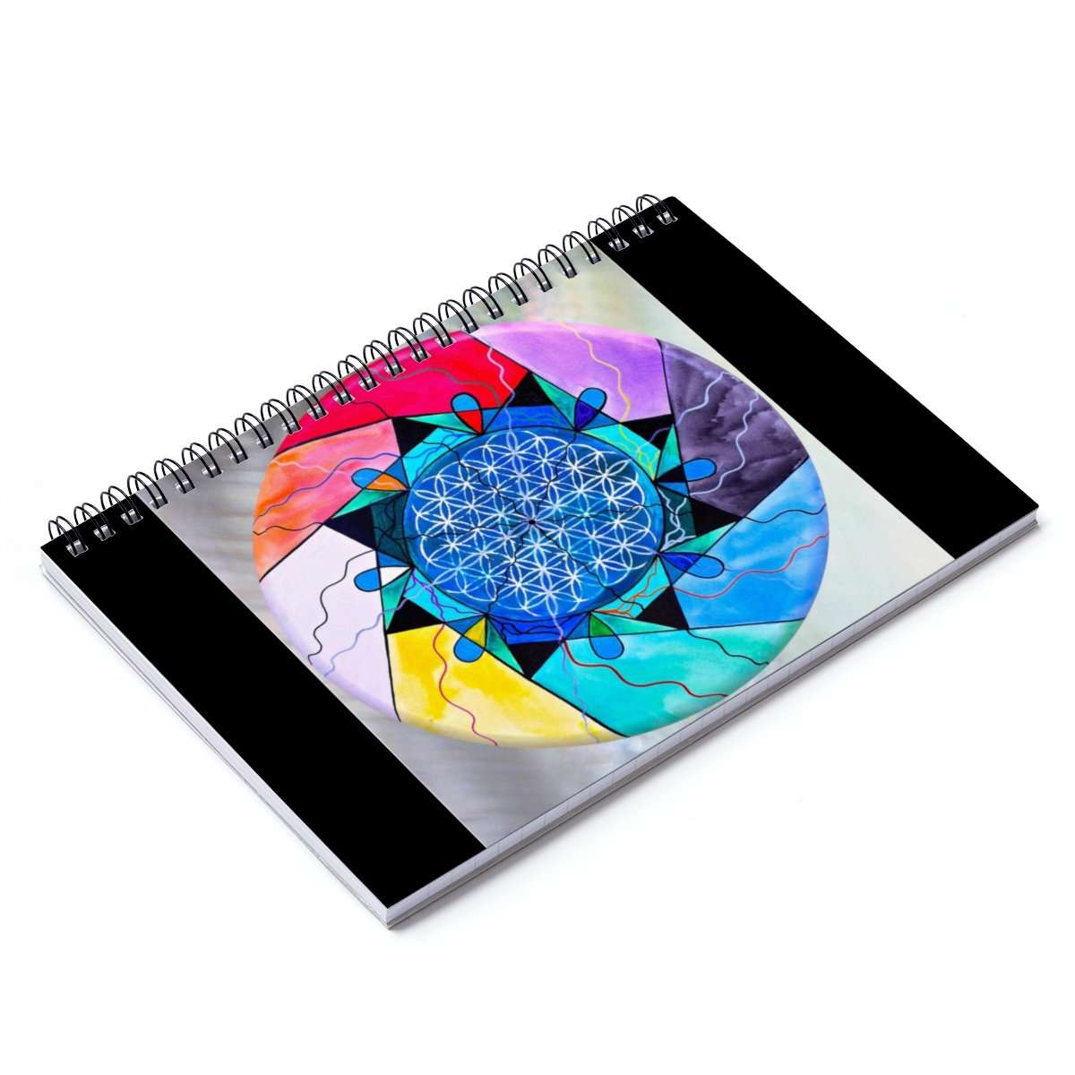 The Flower of Life - Spiral Notebook