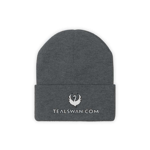 Teal Swan Official Beanie - White Logo Color