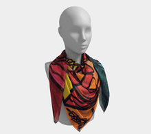 Load image into Gallery viewer, The Catcher - Frequency Scarf
