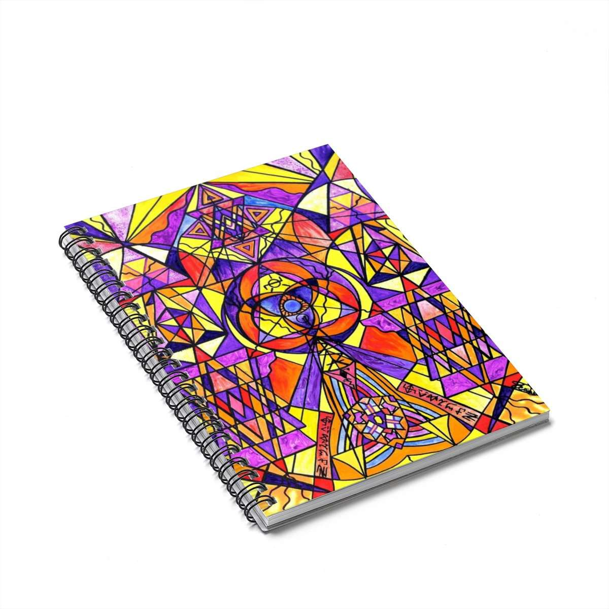 The Destiny Grid - Spiral Notebook
