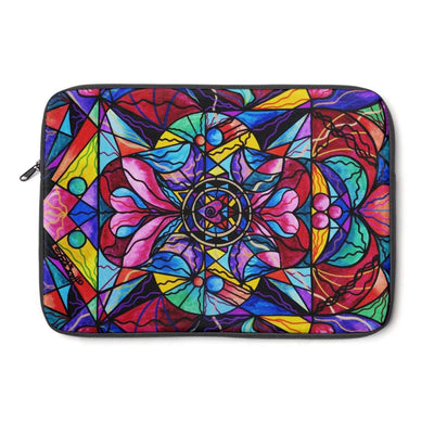 Blue Ray Self Love Grid - Laptop Sleeve