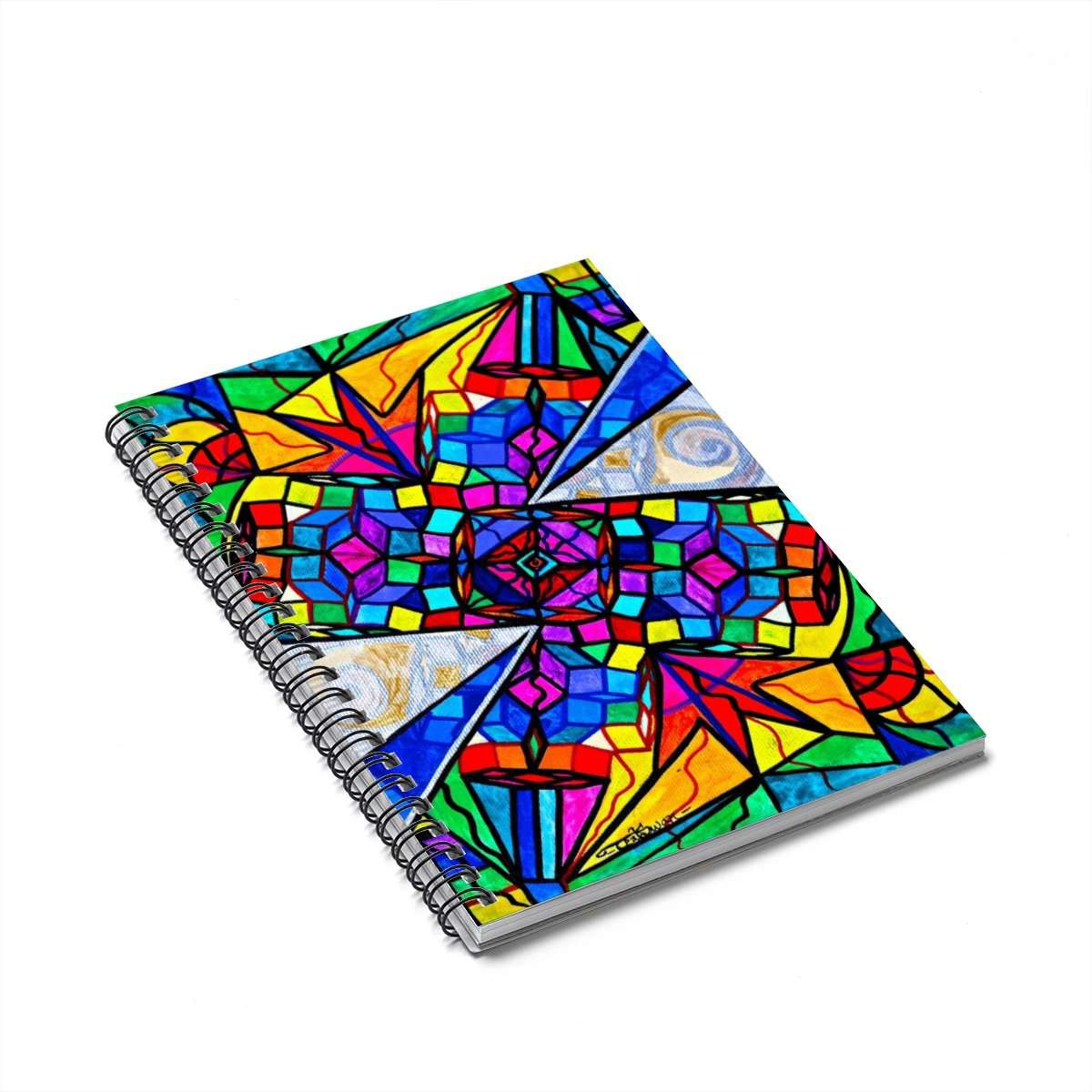 Elucidate Me - Spiral Notebook