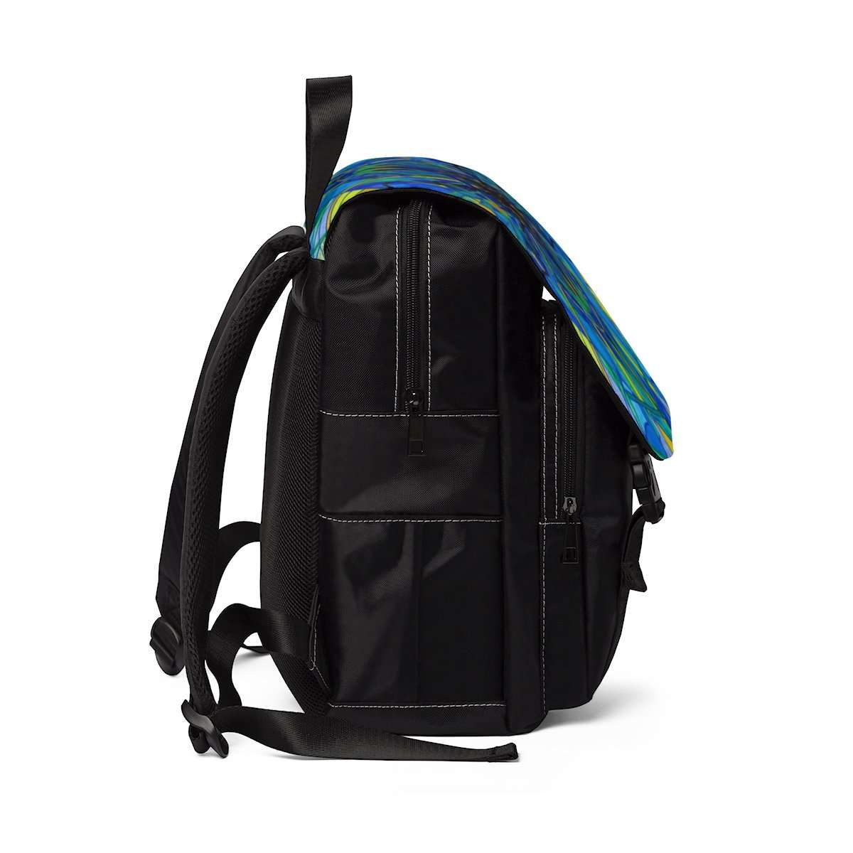 Emotional Expression - Unisex Casual Shoulder Backpack