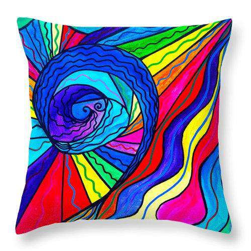 Centripetal  - Throw Pillow