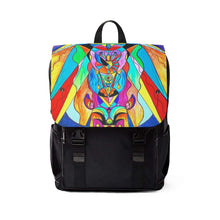 Load image into Gallery viewer, Arcturian Metamorphosis Grid - Unisex Casual Shoulder Backpack