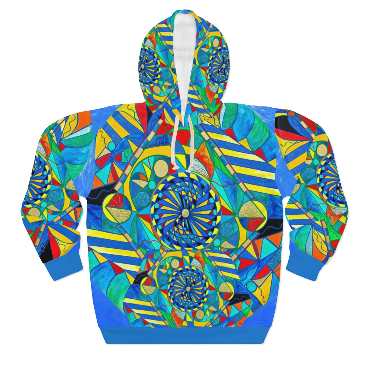 Ascended Reunion - AOP Unisex Pullover Hoodie