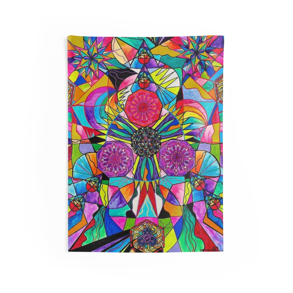 Positive Intention - Indoor Wall Tapestries