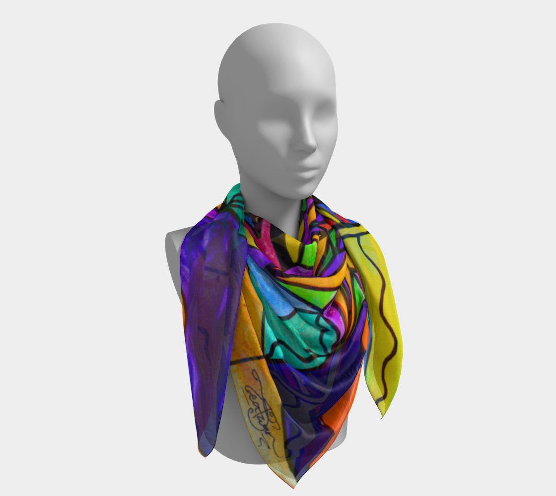 A Change In Perception - Frequency Scarf