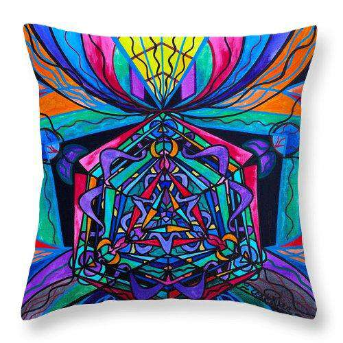 Coherence - Throw Pillow