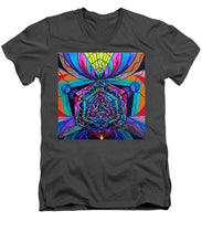 Load image into Gallery viewer, Coherence - Men's V-Neck T-Shirt