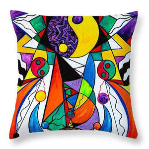 Compatibility - Throw Pillow