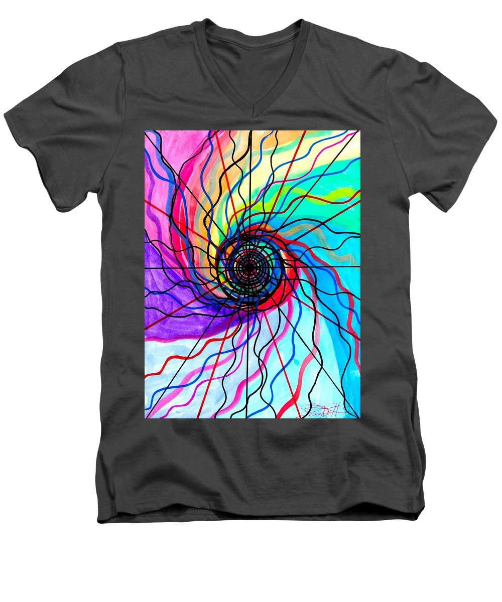 Convolution - Men's V-Neck T-Shirt