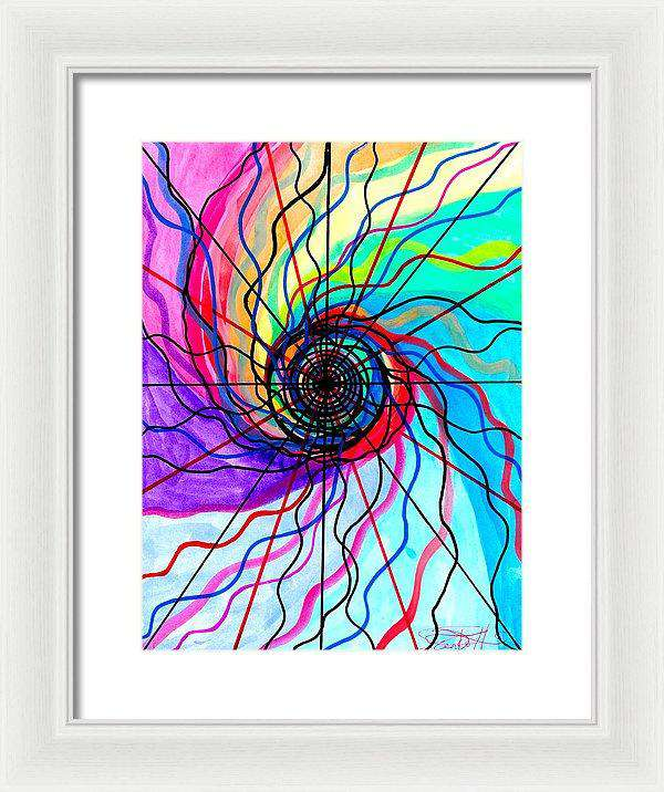 Convolution - Framed Print
