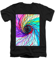 Load image into Gallery viewer, Convolution - Men's V-Neck T-Shirt