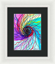 Load image into Gallery viewer, Convolution - Framed Print