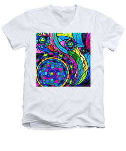Creative Progress - Men's V-Neck T-Shirt