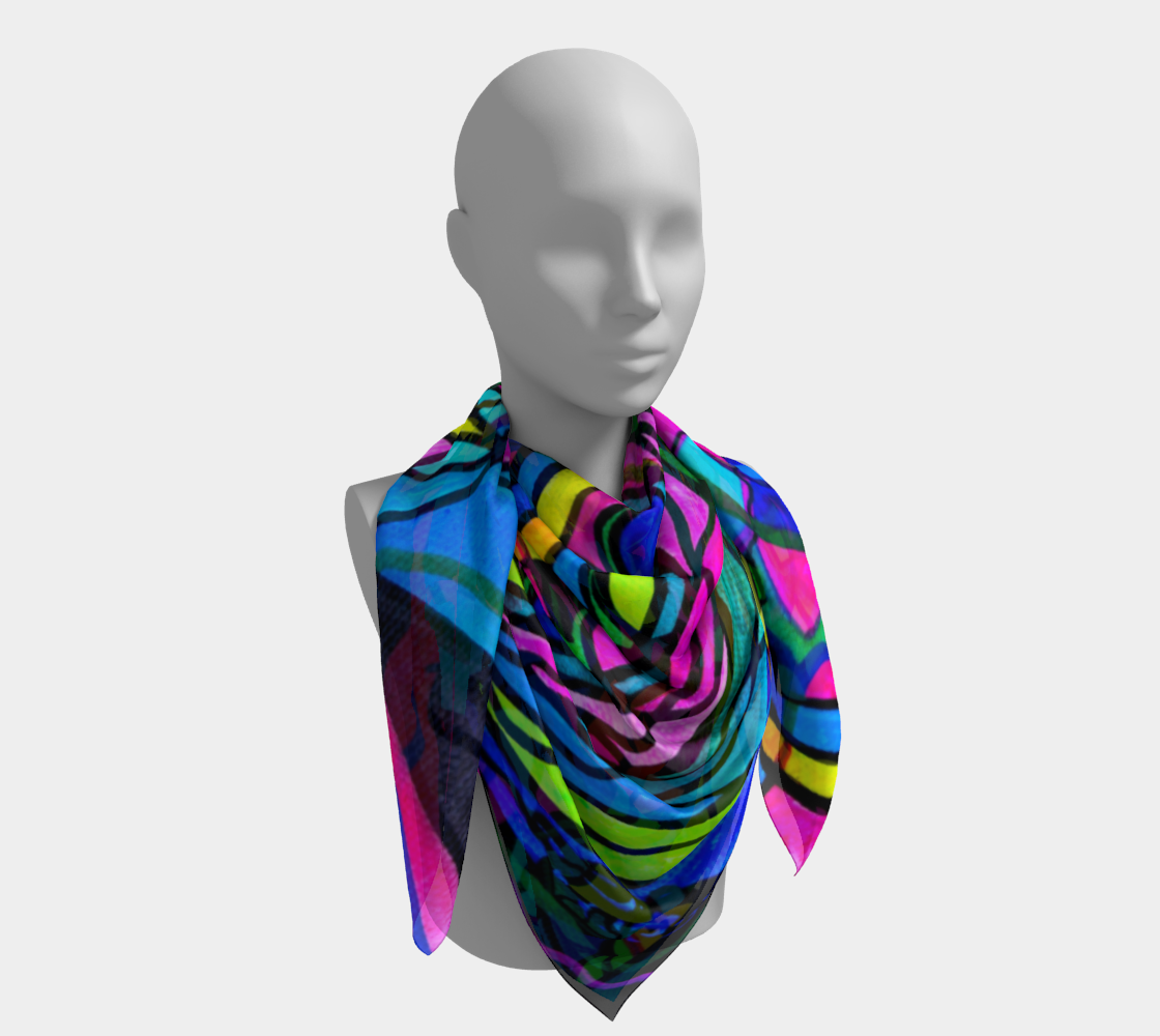 Creative Progress - Frequency Scarf