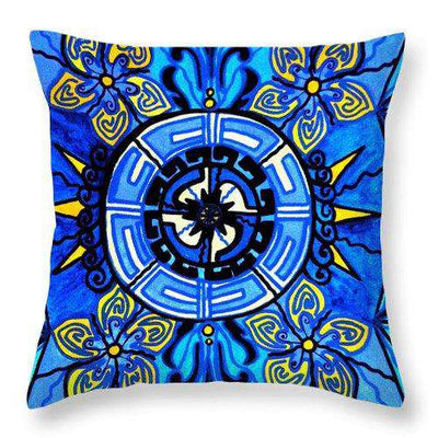 Crete - Throw Pillow