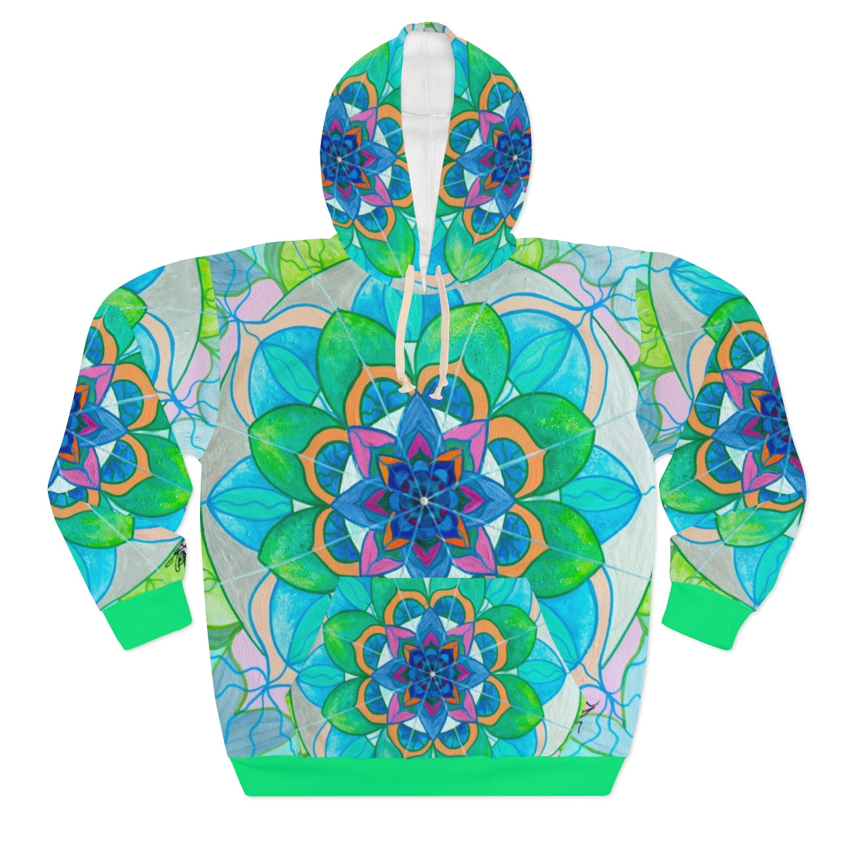 Openness - AOP Unisex Pullover Hoodie