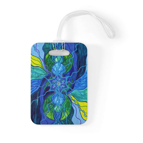 Tranquility - Bag Tag