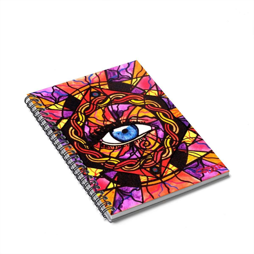 Confident Self Expression - Spiral Notebook