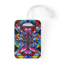 Load image into Gallery viewer, Blue Ray Self Love Grid - Bag Tag