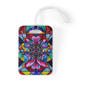 Blue Ray Self Love Grid - Bag Tag