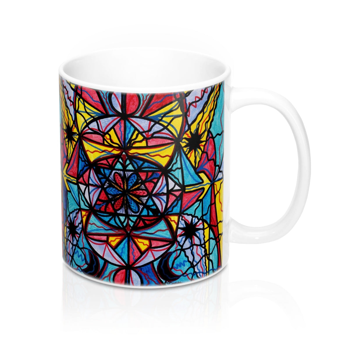 Open To The Joy Of Being Here - Mug