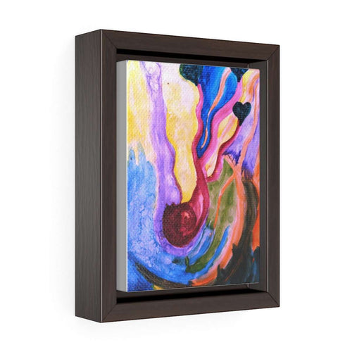 Maternity - Vertical Framed Premium Gallery Wrap Canvas