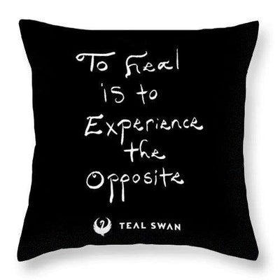 Definition Of Heal Quote - Throw Pillow