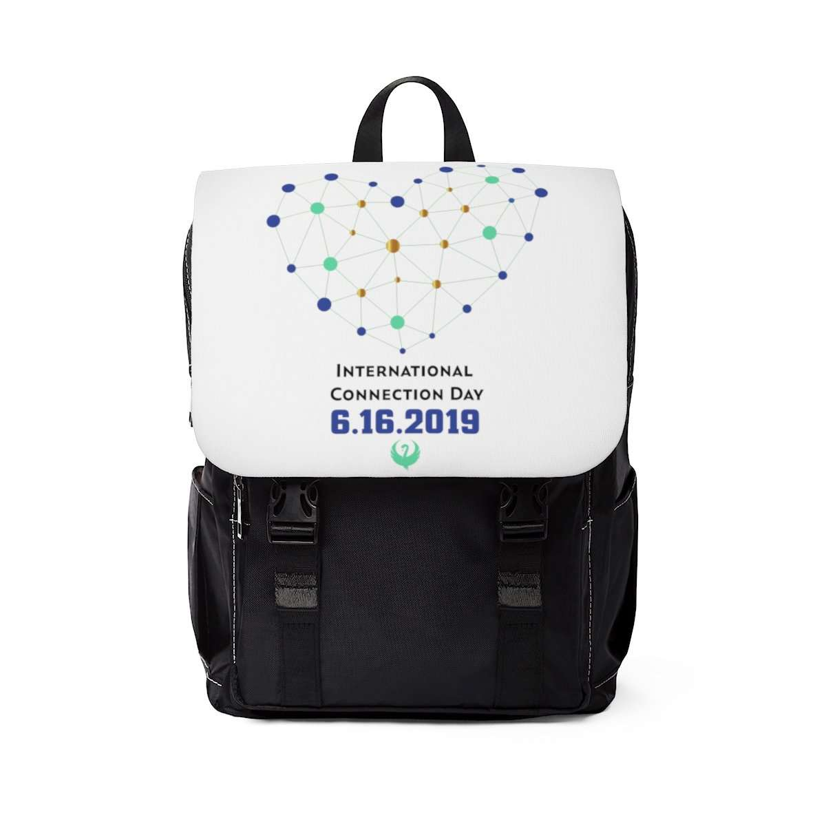International Connection Day 2019 - Unisex Casual Shoulder Backpack