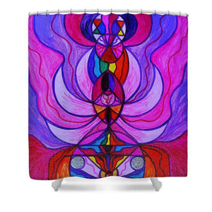 Divine Feminine Activation - Shower Curtain