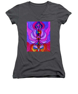 Divine Feminine Activation - Women's V-Neck