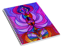 Load image into Gallery viewer, Divine Feminine Activation - Spiral Notebook