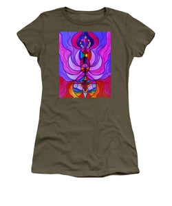 Divine Feminine Activation - Women's T-Shirt