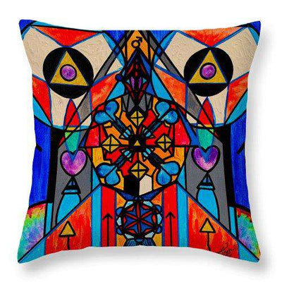 Divine Masculine Activation - Throw Pillow