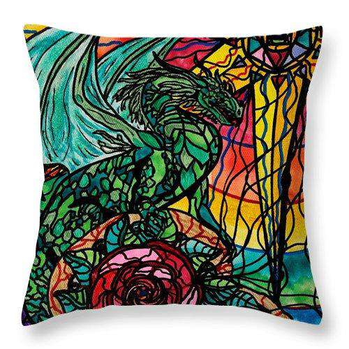 Dragon - Throw Pillow