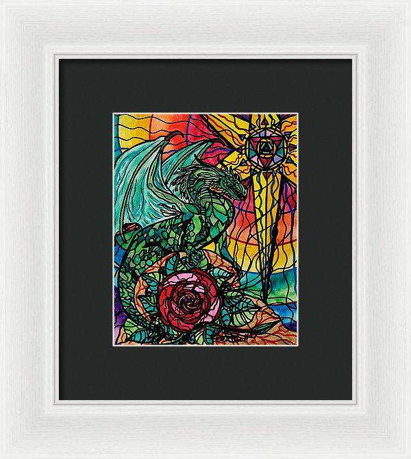 Dragon - Framed Print