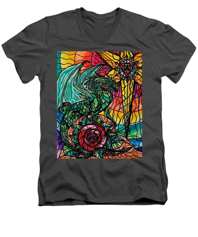 Dragon - Men's V-Neck T-Shirt