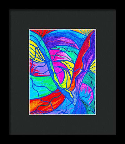 Drastic Change - Framed Print