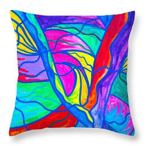 Drastic Change - Throw Pillow