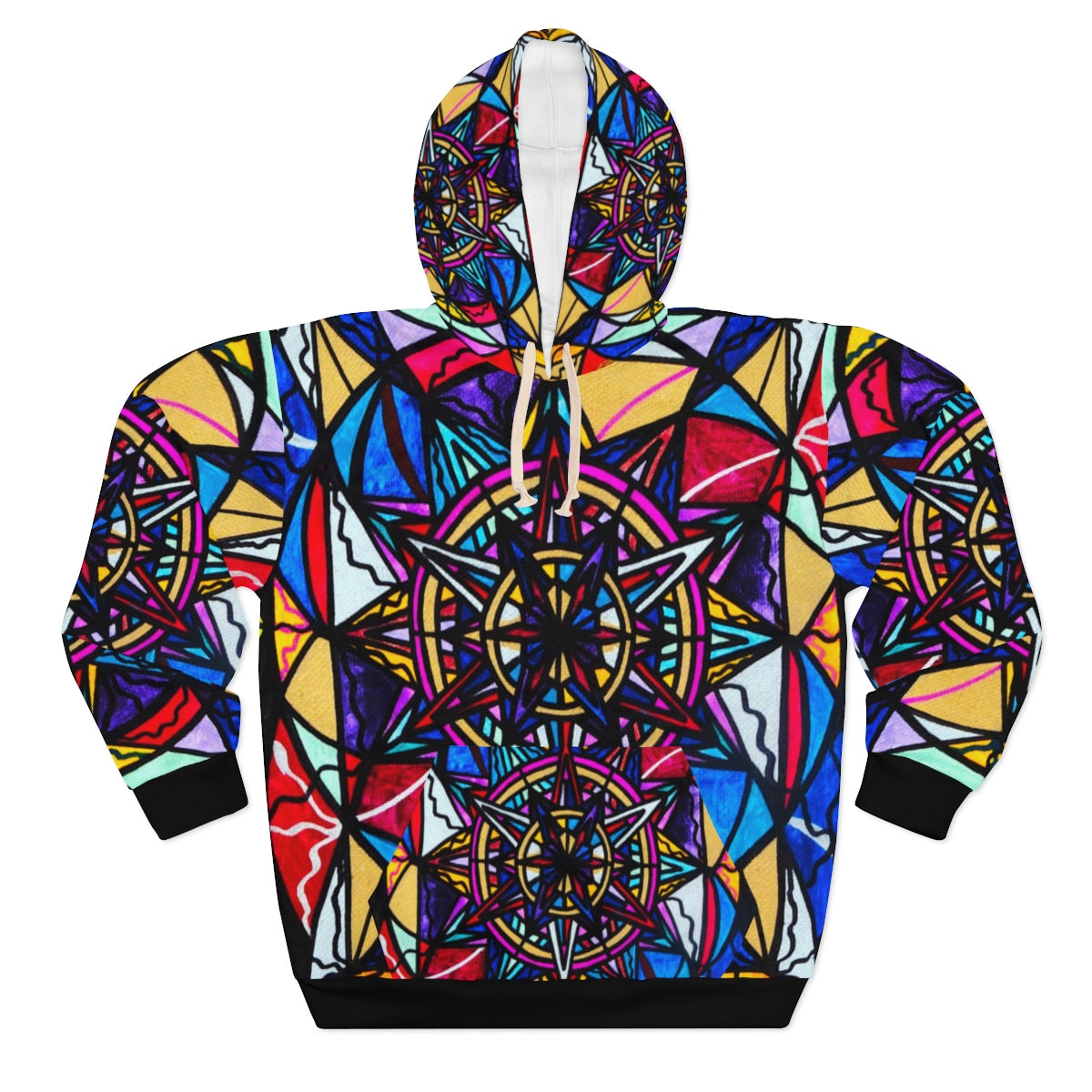 Financial Freedom - AOP Unisex Pullover Hoodie