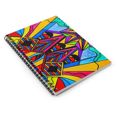 A Change In Perception - Spiral Notebook