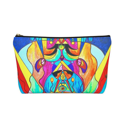 Arcturian Metamorphosis Grid - Accessory Pouch w T-bottom