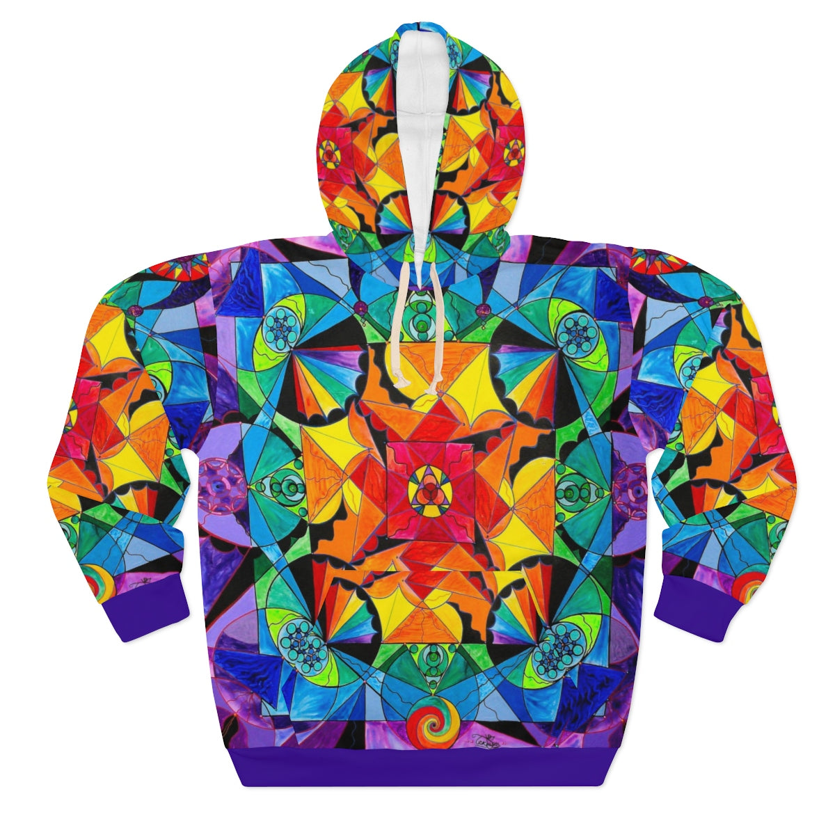 The Way - AOP Unisex Pullover Hoodie
