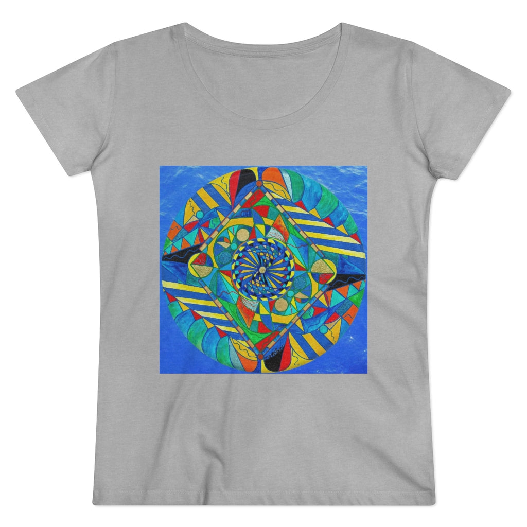 Ascended Reunion - Organic Women Lover T-shirt