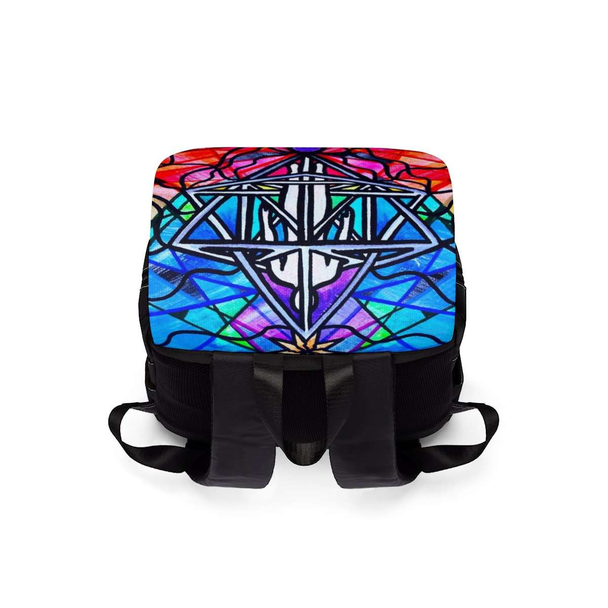 Merkabah - Unisex Casual Shoulder Backpack
