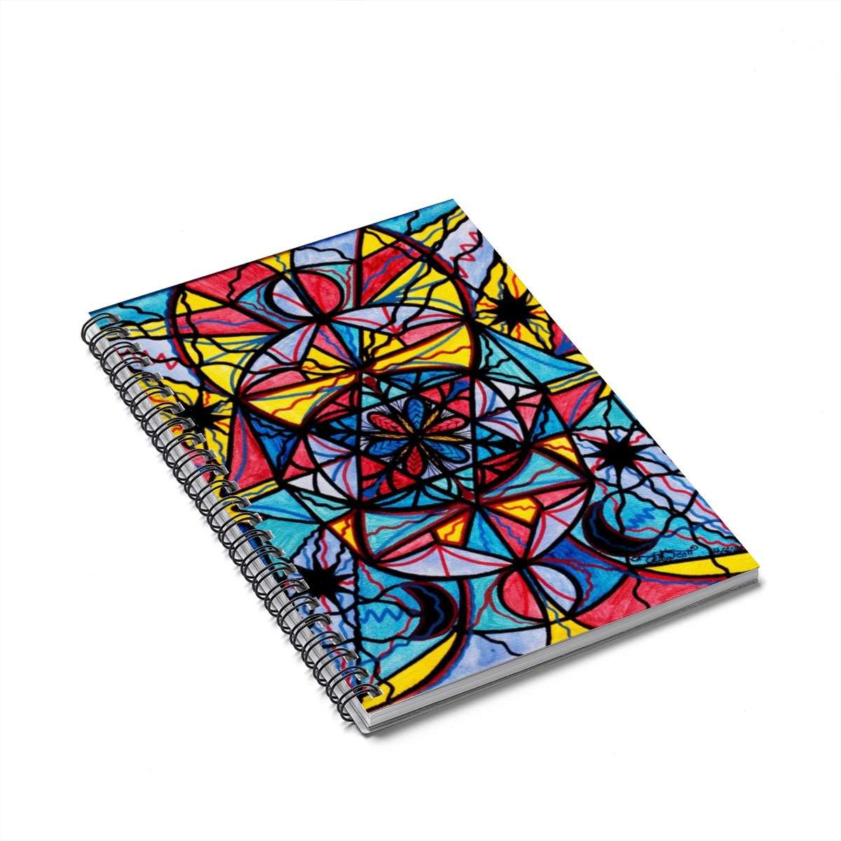 Open To The Joy Of Being Here - Spiral Notebook