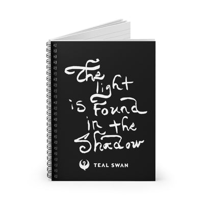The Light Quote - Spiral Notebook