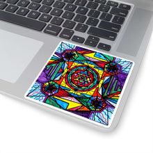 Load image into Gallery viewer, Sri Yantra - Square Stickers